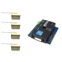 Set: 4 Weichenantriebe + SwitchPilot Servo
