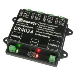 DR4024 Servodecoder mit 4 separaten Schaltausgängen